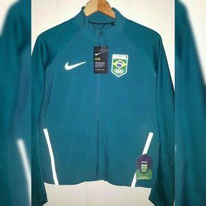Nike Brasil Soccer Jersey Jacket Women Large $250